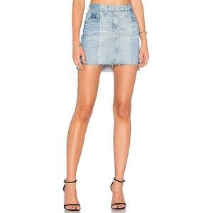 """AG Jeans """"Sandy"""" Mini Skirt in 19 Years Fracture"""